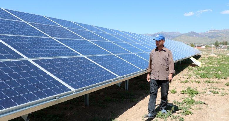 58 bin lira elektrik faturası gelince tarlasına güneş enerji sistemi kurdu!