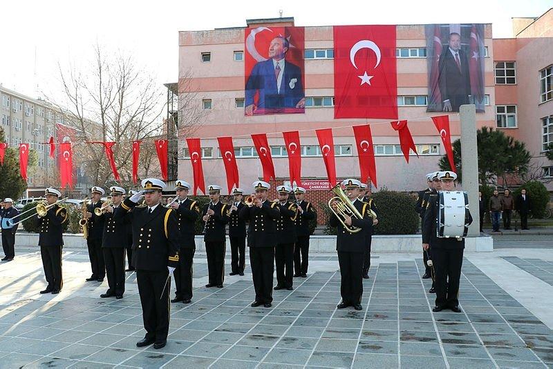 Çanakkale Deniz Zaferi'nin 105'inci yılı törenle kutlandı