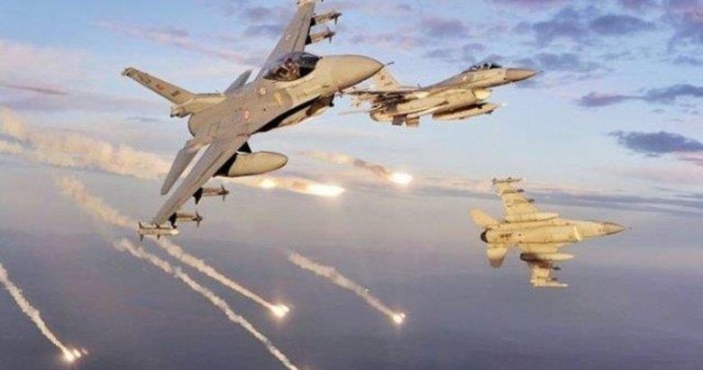 Kuzey Irak'a hava harekatı! 3 terörist yok edildi