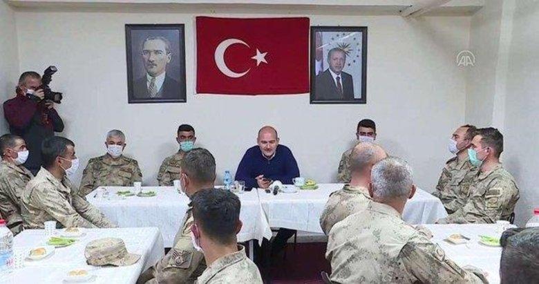 Başkan Erdoğan İkiyaka Dağları'ndaki askerlerin bayramını kutladı