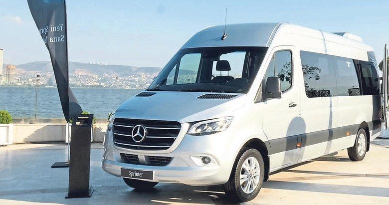 Sprinter 9 ileri otomatik şanzımanla İzmir'e geldi