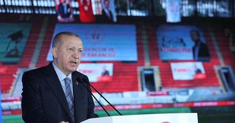 Başkan Erdoğan'dan İzmir'deki Deprem Konutları Temel Atma töreninde çarpıcı mesajlar