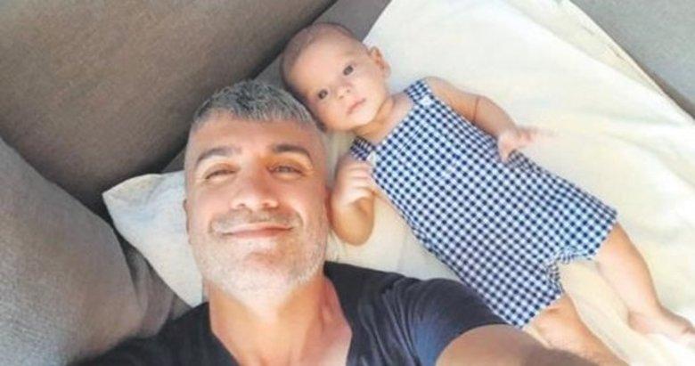 Özcan Deniz ilk defa oğlu Kuzey'in net fotoğrafını paylaştı