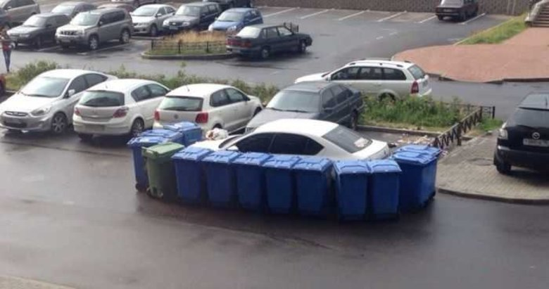 Otomobilini görünce şok oldu! Hatalı park edince...