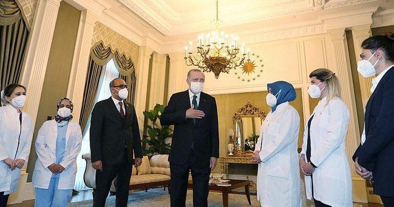 Başkan Erdoğan sağlık çalışanlarının Dünya Sağlık Günü'nü kutladı