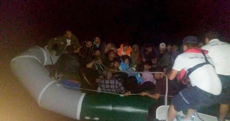 Aydın Didim'de 30 göçmen yakalandı
