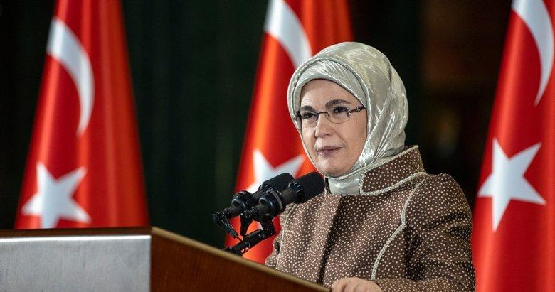 Emine Erdoğan: Dünyada görülen 'Şiddet Salgını' ortadan kaldırmak için iş birliğimizi arttırmalıyız
