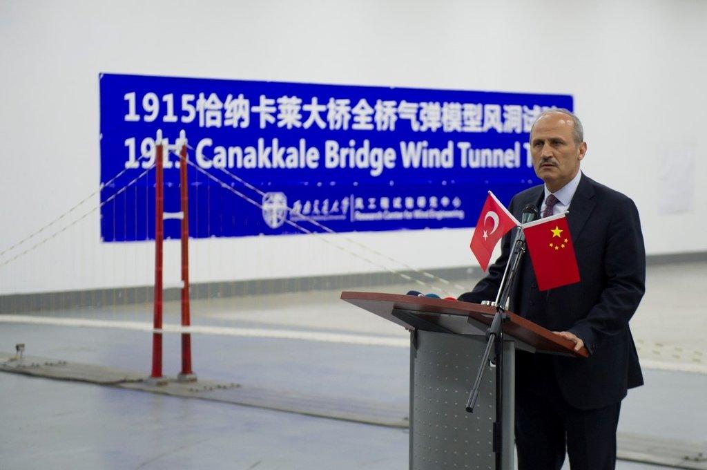 1915 Çanakkale Köprüsü Tam Model Rüzgar Tüneli testi başarıyla tamamlandı