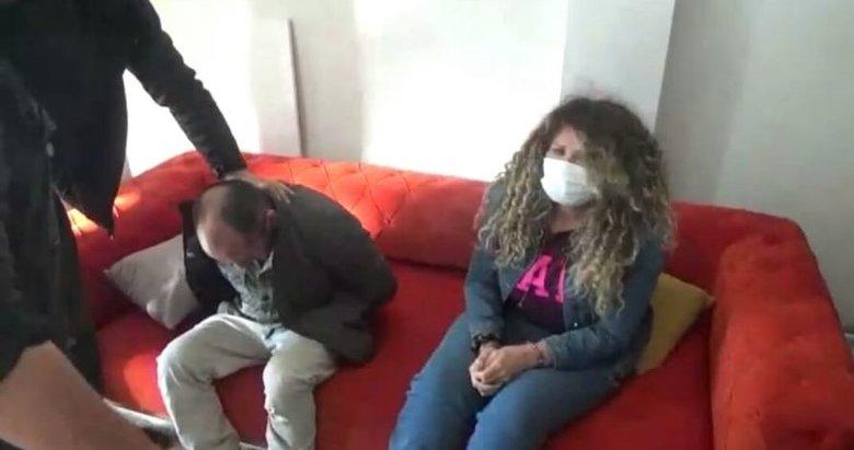 Kolombiyalı karı koca hırsızlık çetesi çökertildi