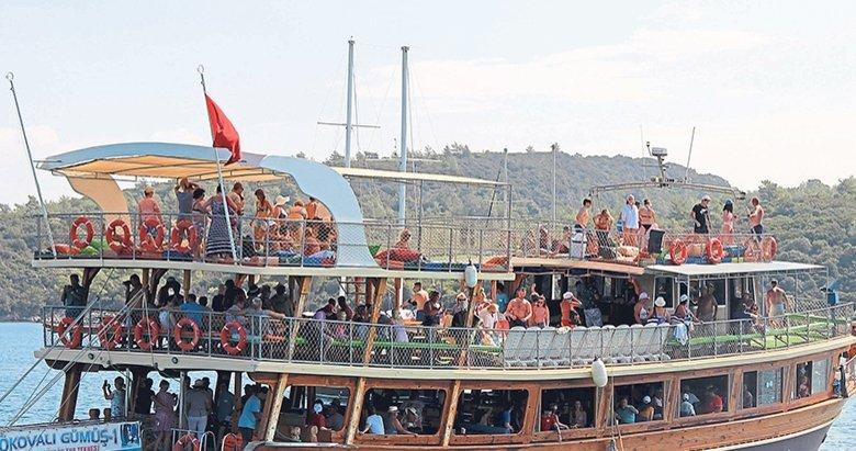 Muğla'da yabancı turist sayısı artıyor