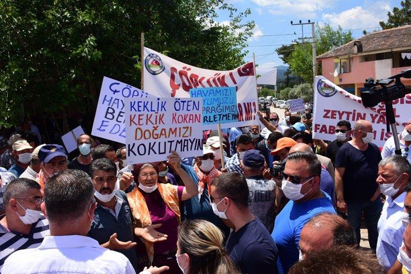 İzmir Büyükşehir Belediyesi'nin ÇED'siz ihale edilen tesisine tepki