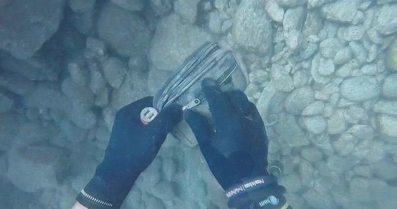 Muğla'da denizin dibinde buldu! İçinden çıkanı görünce...