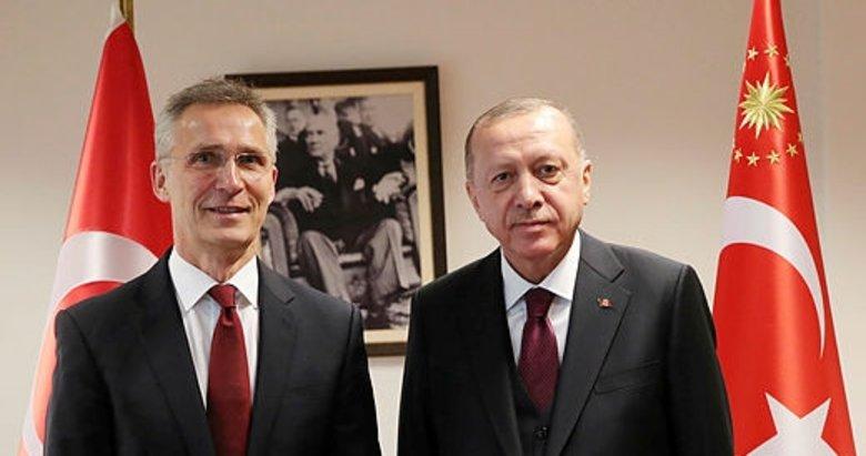 Başkan Erdoğan NATO Genel Sekreteri ile görüştü