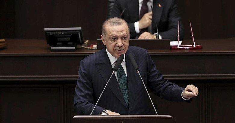 Başkan Erdoğan'dan partisinin TBMM'deki Grup Toplantısı'nda önemli açıklamalar