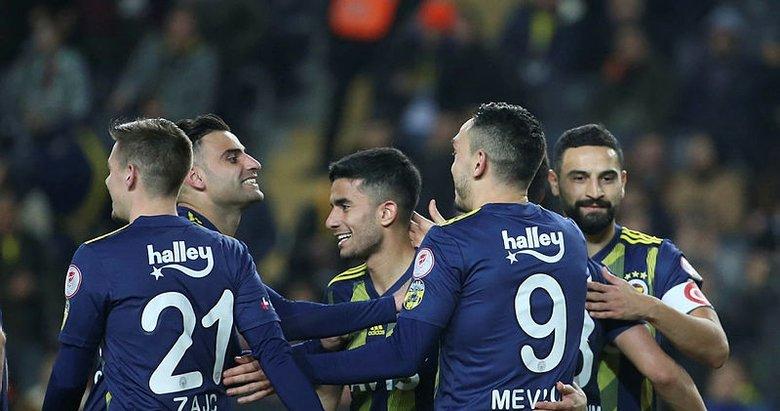 Fenerbahçe kupada adını yarı finale yazdırdı