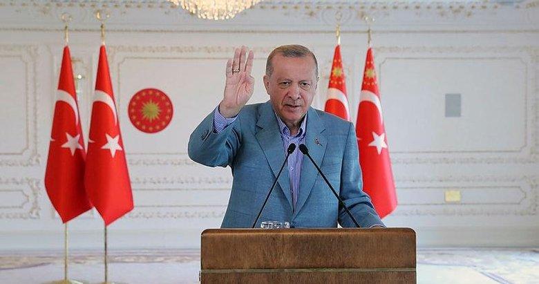 Başkan Erdoğan'dan Kuzey Marmara Otoyolu yeni etabının açılışında önemli mesajlar