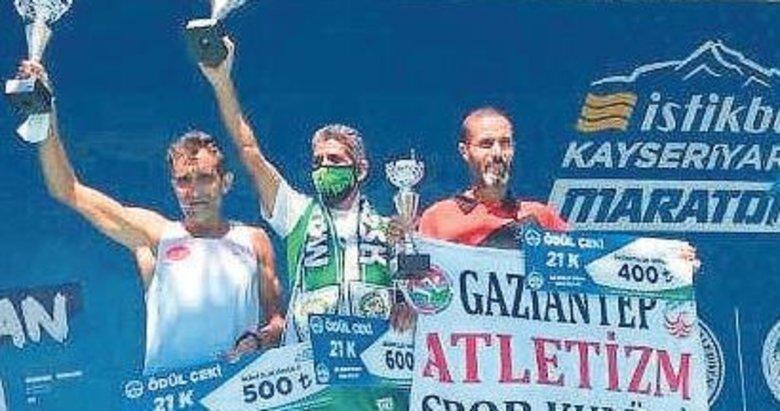 Ahmet Bayram'dan Kayseri'de de zafer