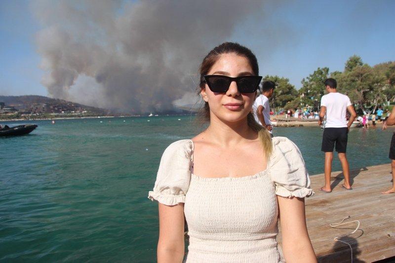 Bodrum'da yangın kabusu! Binlerce kişi otellerden tahliye edildi!