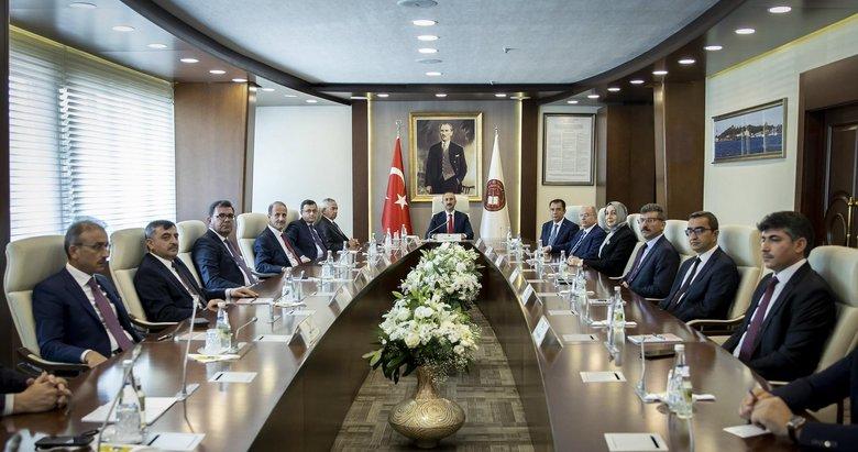 HSK'da görev dağılımı yapıldı! HSK'nın yeni başkanvekili Mehmet Akif Ekinci oldu