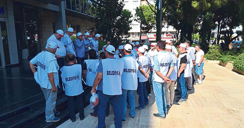 Gaziemir Belediyesi'nde eylem