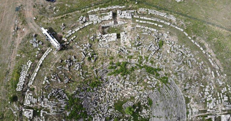 Dünya mirası Aizanoi'de restorasyon çalışmaları başladı