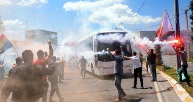 İzmir'de yüzlerce kişi geldi! Göztepe, Bursa'ya coşkuyla uğurlandı