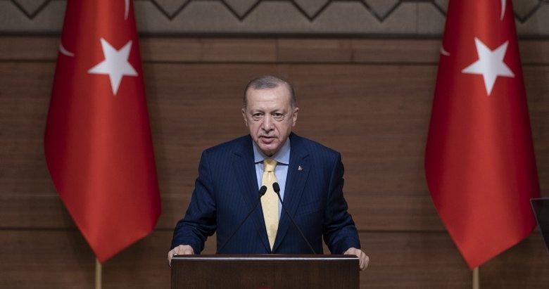 Başkan Erdoğan Irak Dışişleri Bakanı Fuat Hüseyin'i kabul etti