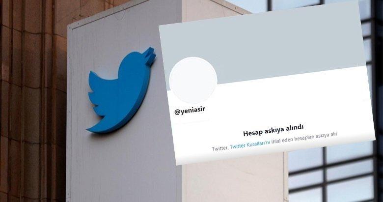 Twitter'dan Yeni Asır'a haksız ambargo