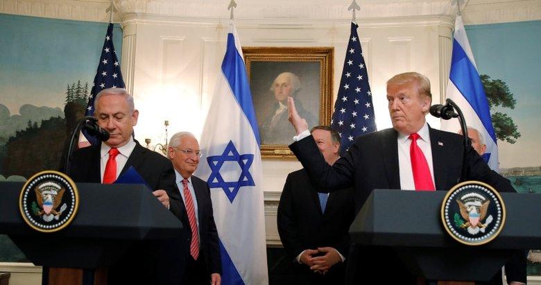 Trump, İsrail işgalini resmen tanıdı