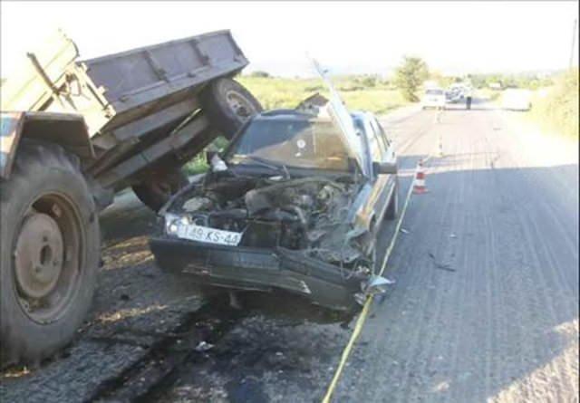 Kaza yapan araç öyle bir değişim geçirdi ki görenler şok oldu