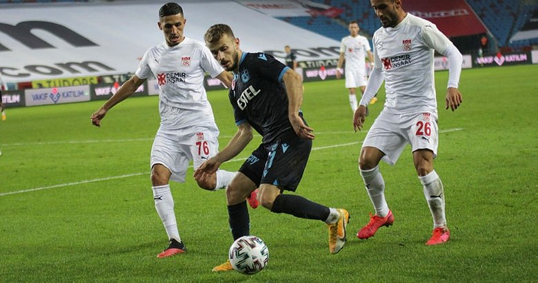 Trabzonspor - Sivasspor | Maç sonucu: 1-1