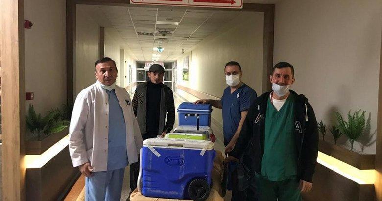 Afyonkarahisar'da beyin ölümü gerçekleşen hastanın organları 3 kişiye umut oldu
