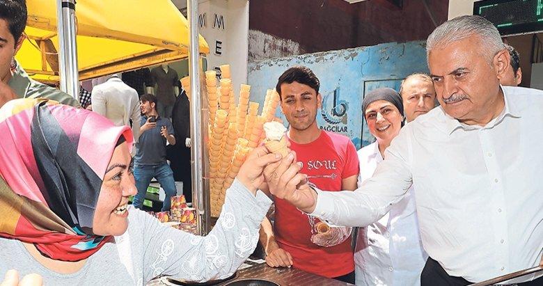 İzmir'e seçim kampı