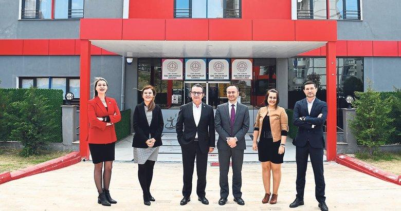 İzmir'in kuzeyinde 21. yüzyıla yakışır eğitim