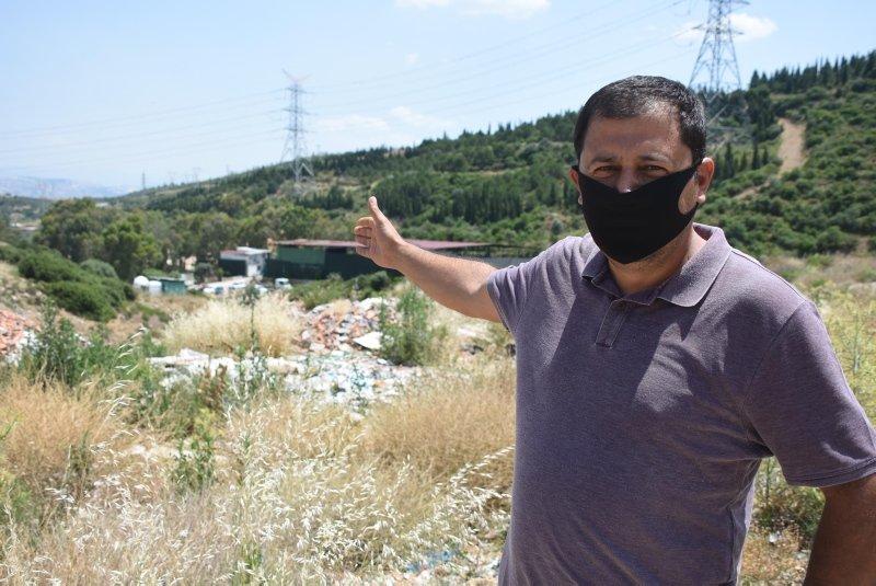 İzmir'de bir mahallenin kaçak moloz ve hafriyat dökümü isyanı!