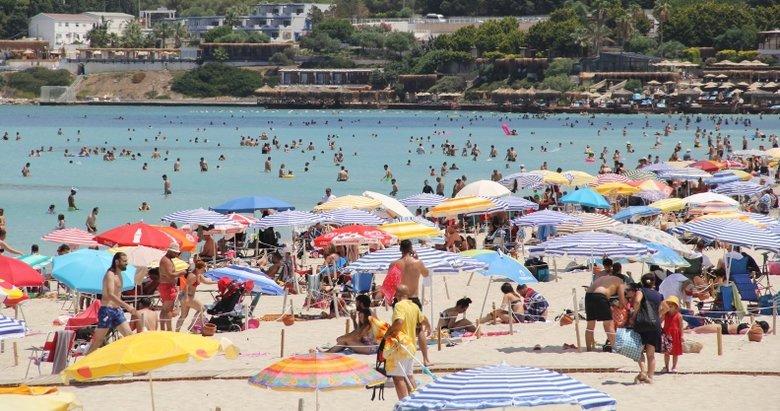 Ege sahillerine turist yağdı