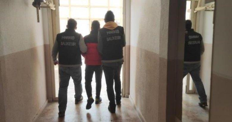 Balıkesir merkezli İzmir ve Bursa'da uyuşturucu operasyonu