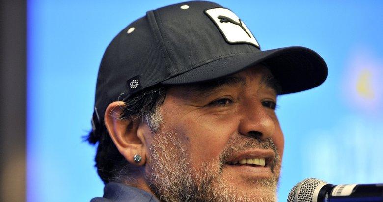 Maradona'dan Filistin açıklaması!