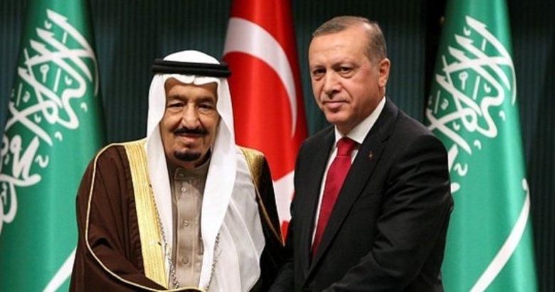 Başkan Recep Tayyip Erdoğan, Kral Abdülaziz ile telefonda bayramlaştı