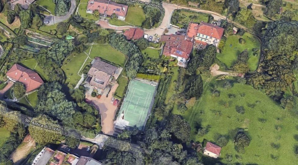 İşte Cristiano Ronaldonun Torinodaki yeni evi
