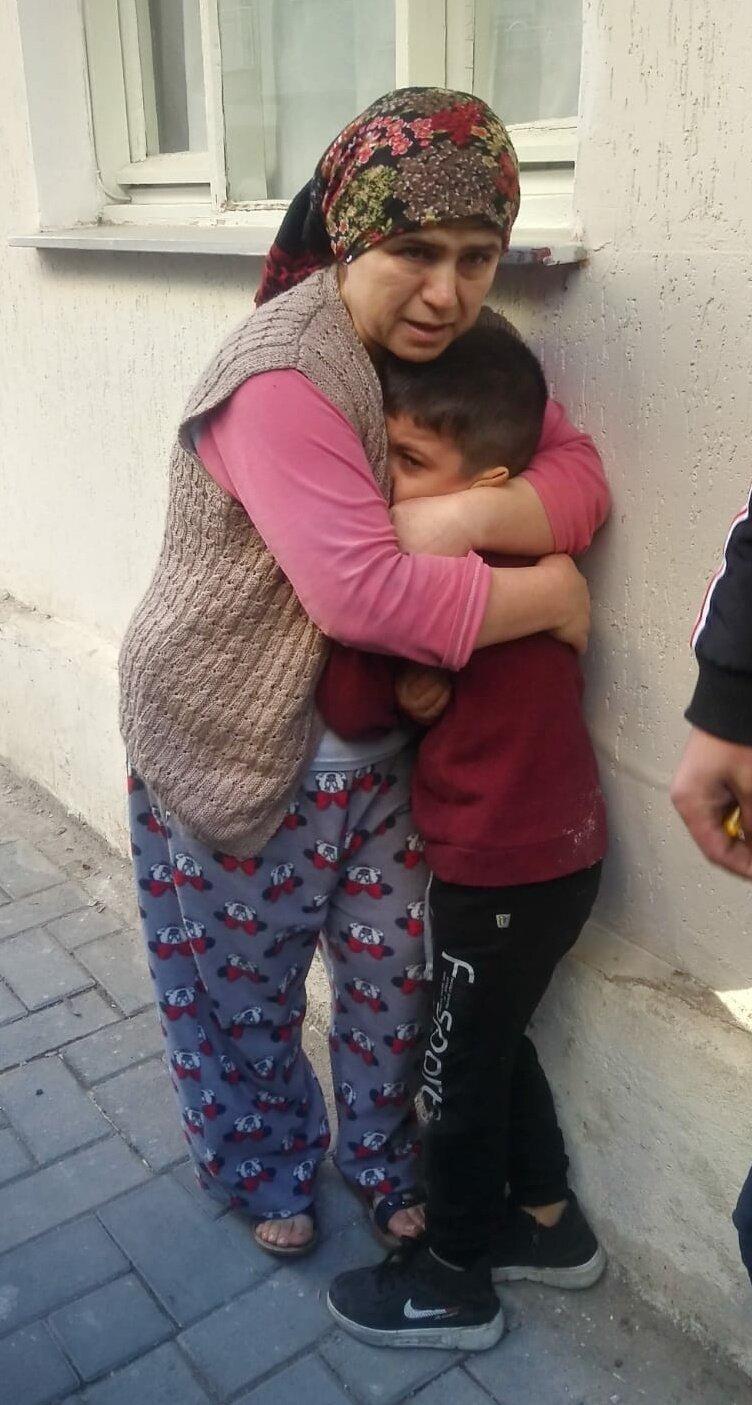 Manisa'da korku dolu anlar! Küçük çocuk canını zor kurtardı