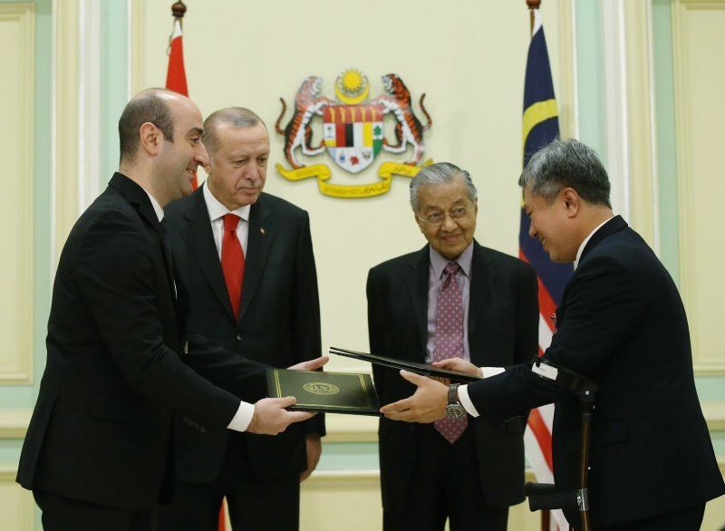 Türkiye ile Malezya arasında 15 anlaşma imzalandı!