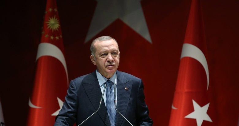 Başkan Erdoğan, Galatasaray'a başarı diledi