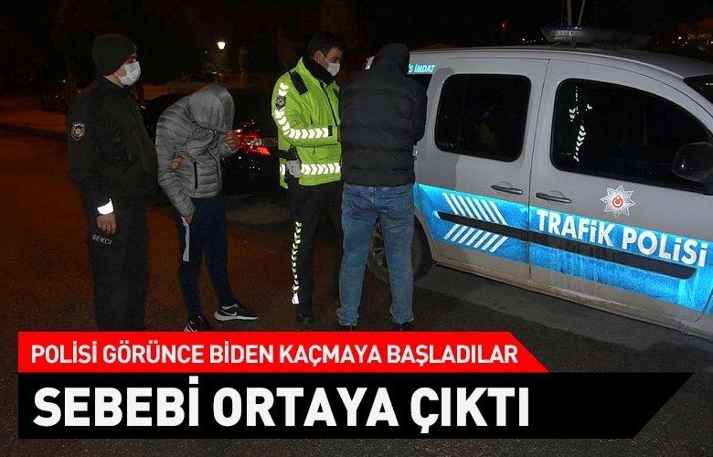 Polisin 'dur' ihtarına uymadılar, kovalamaca sonucu yakalandılar