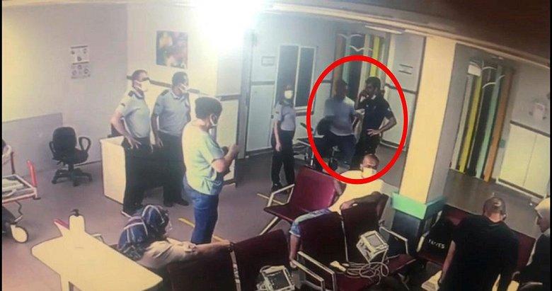 'Peşimdeler' diyerek yaklaştı! Polisin silahını almaya çalıştı