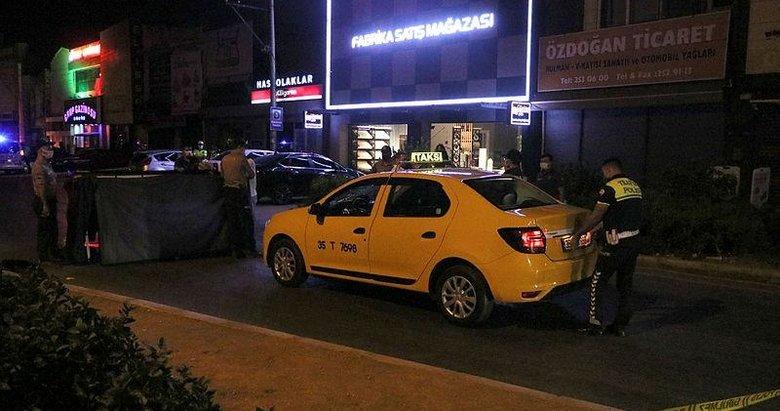 İzmir'de yolun karşısına geçen yayaya taksi çarptı: 1 ölü