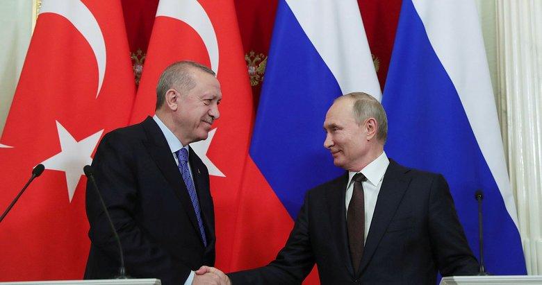 Başkan Erdoğan, Putin'le görüştü