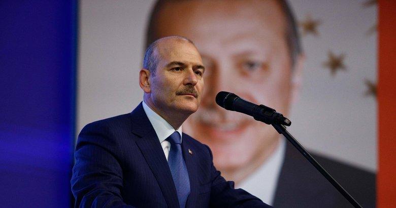 Başkan Erdoğan'ın yanındayız açıklaması sonrası Bakan Soylu'dan Emrindeyiz paylaşımı
