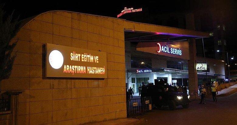 Siirt Pervari'deki terör operasyonlarında ağır yaralanan 2 Özel Harekat polisi şehit oldu