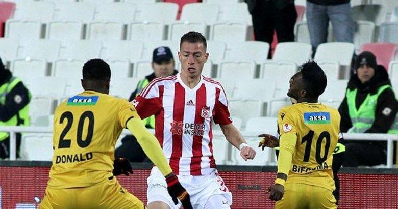 Sivasspor 4 - 0 Yeni Malatyaspor! Golleri izlemek için tıklayın